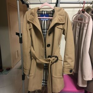 Auth Burberry trench coat blue label
